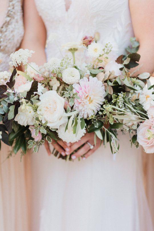 English Garden Wedding Bouquets