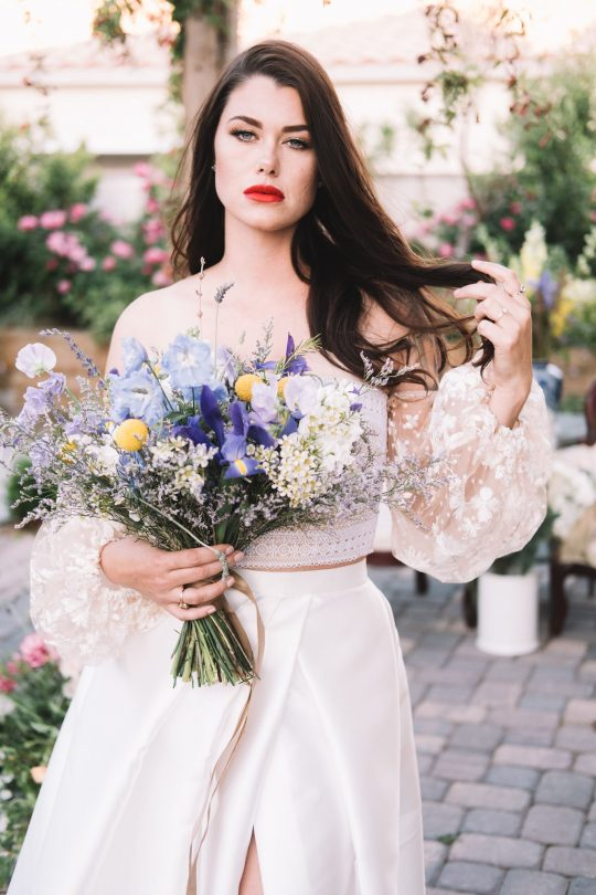 French Blue Wedding Inspiration