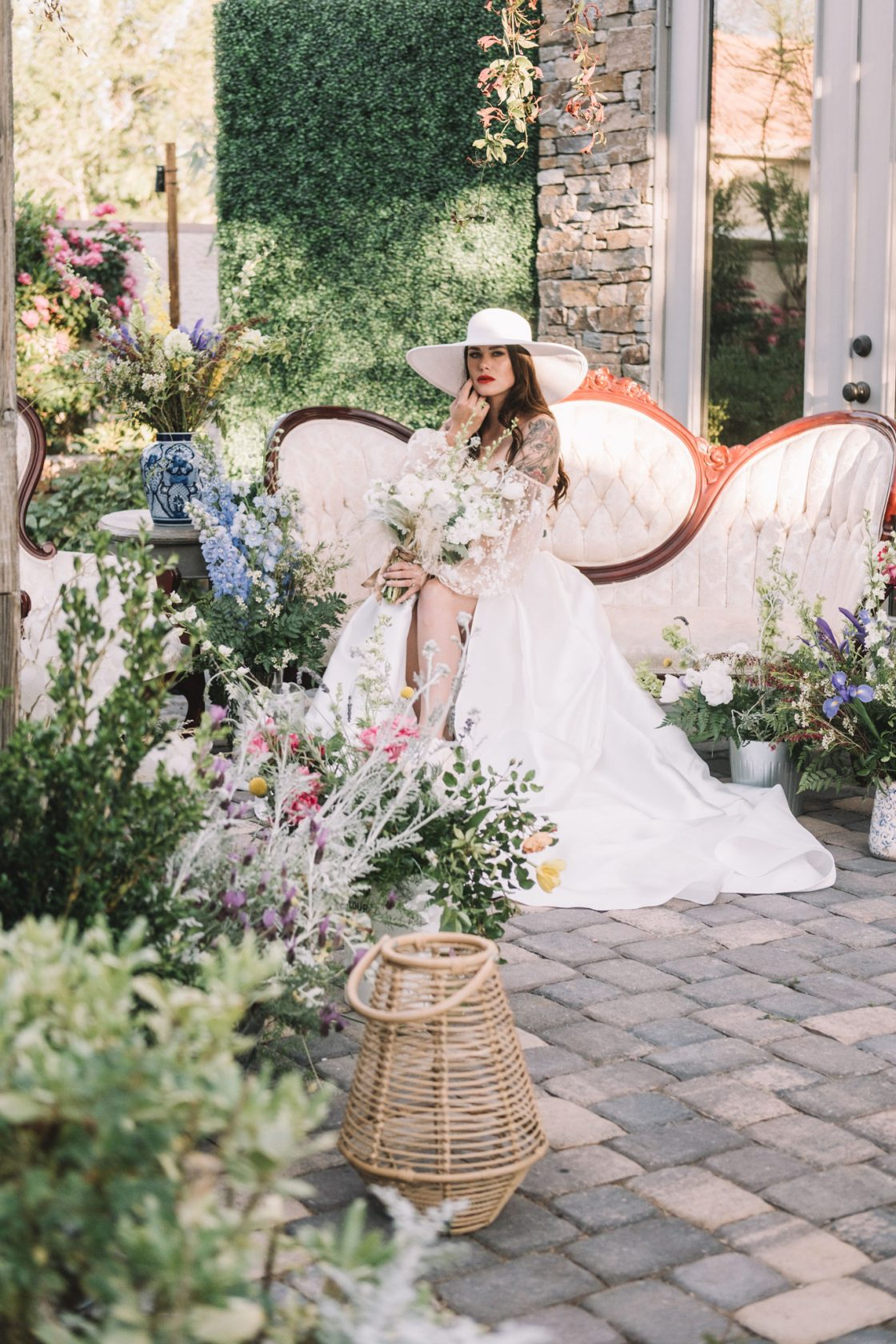 French Countryside Chic Wedding Inspiration 1