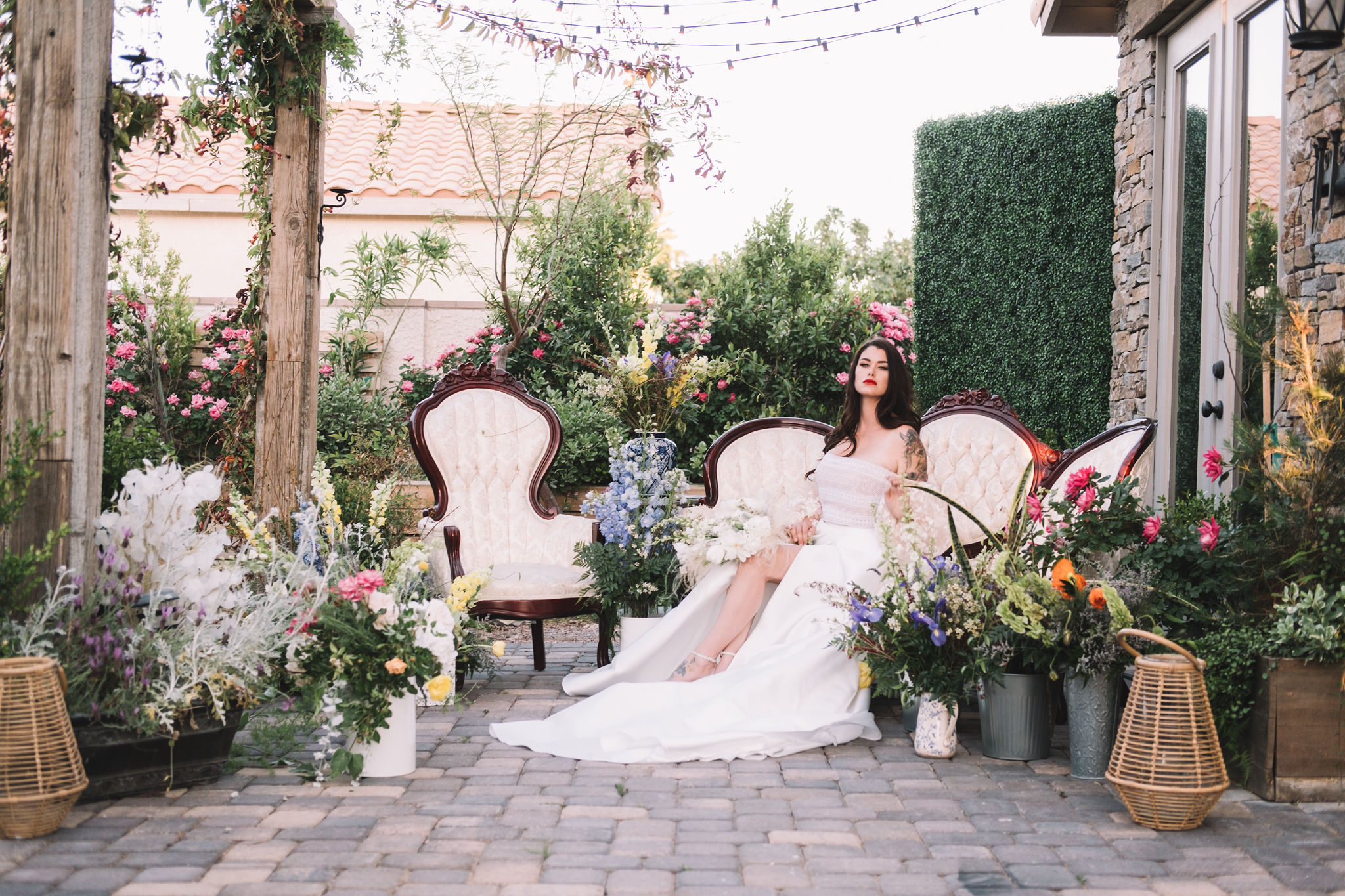 French Countryside Chic Wedding Inspiration 4