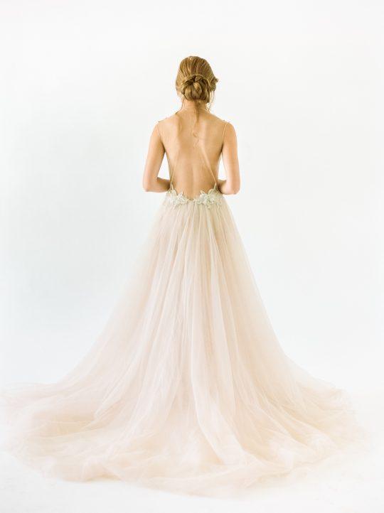 Galia Lahav Low Open Back Wedding Gown