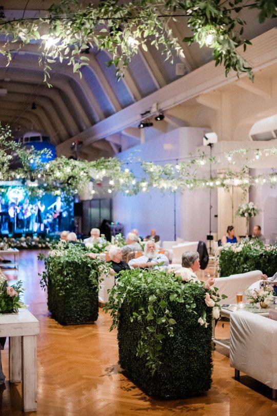 Garden Inspired Wedding Reception Decor