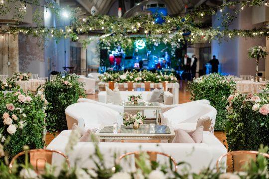 Indoor Garden Inspired Wedding