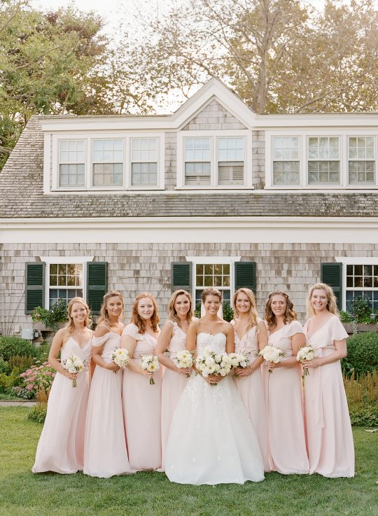 Light Blush Bridesmaids Dresses