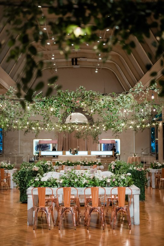 Museum Garden Wedding Reception