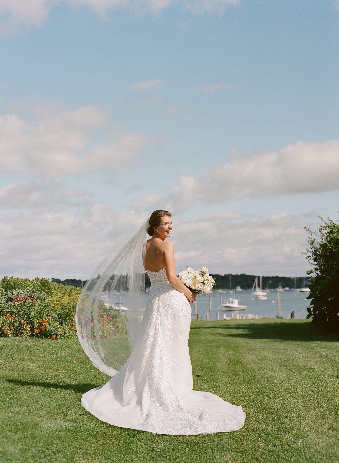 New England Waterside Wedding