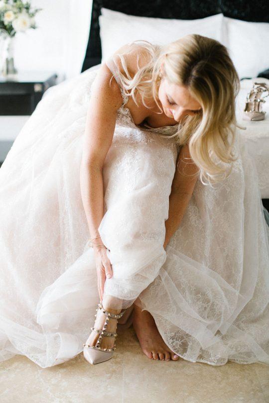 Nude Valentino Wedding Shoes