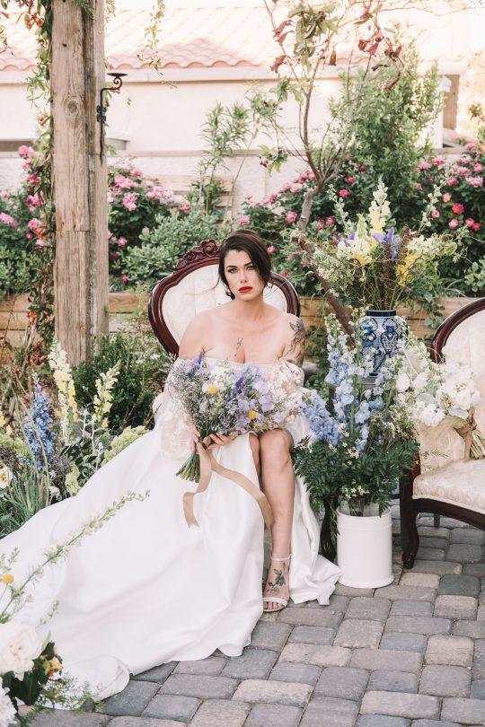 Romantic French Garden Wedding Inspiration