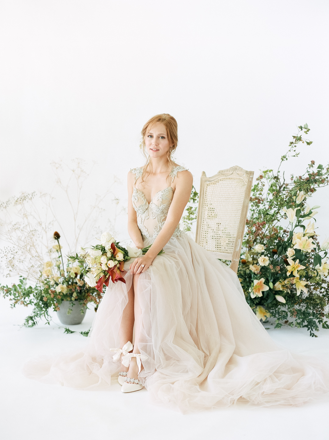 Romantic Organic Wedding Inspiration