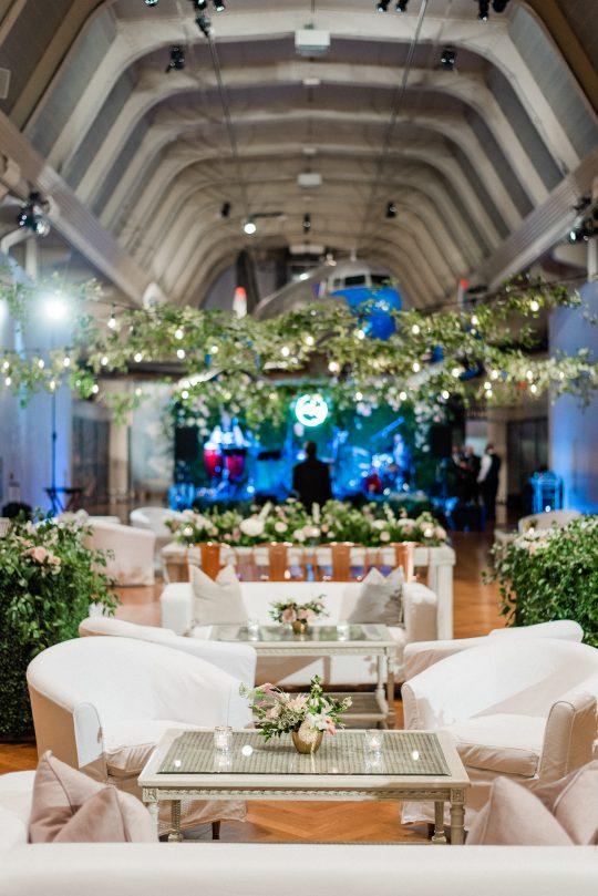 Wedding Reception Lounge Area