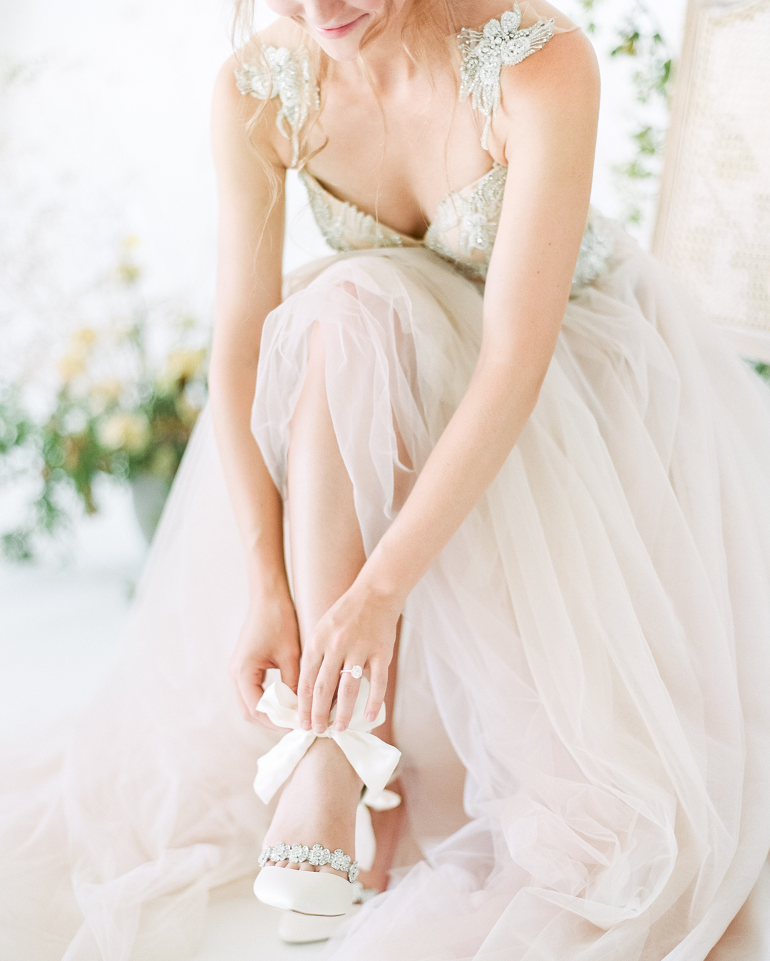 Wedding Shoes With Bow