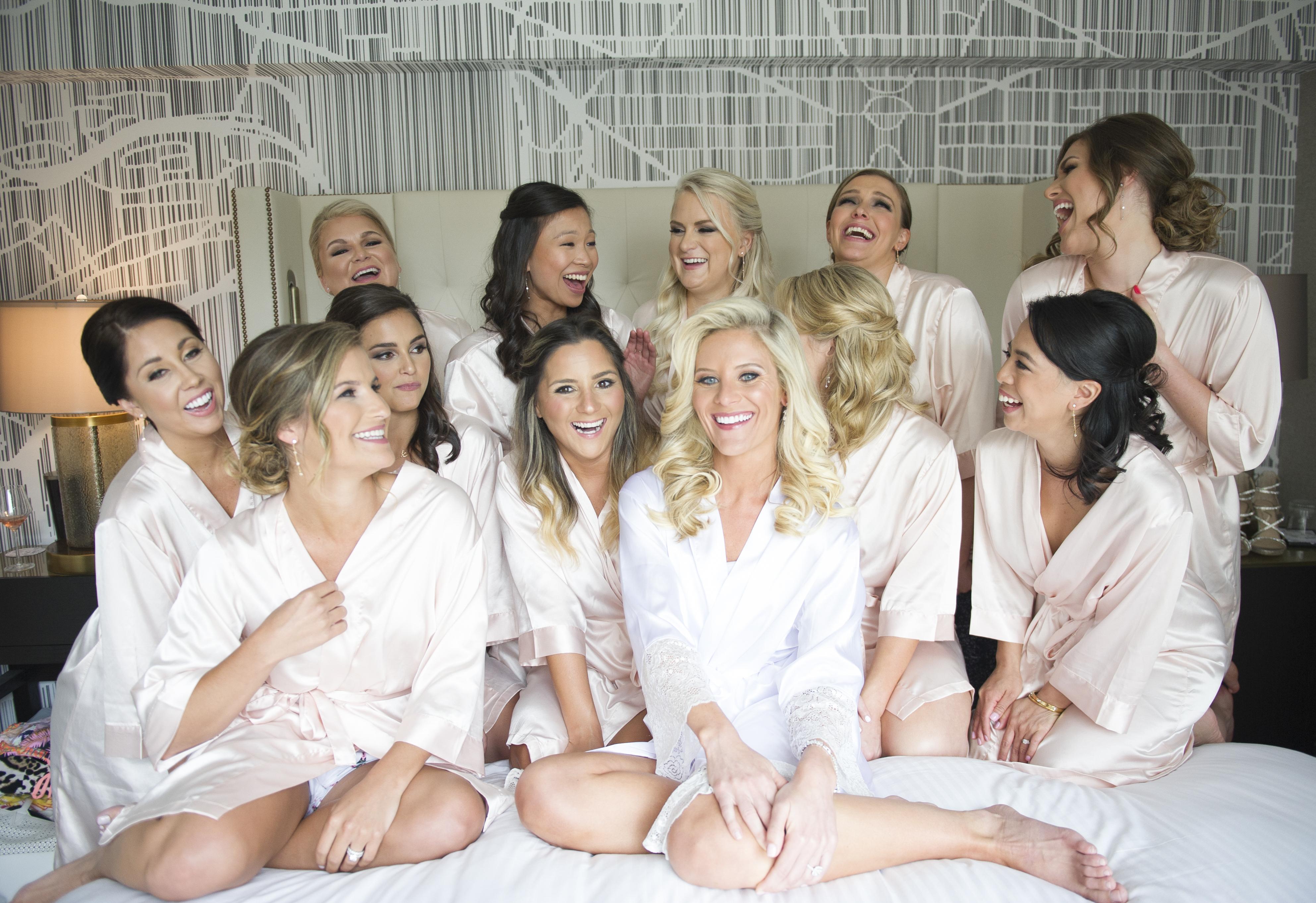 Bridal Party Robe Photo
