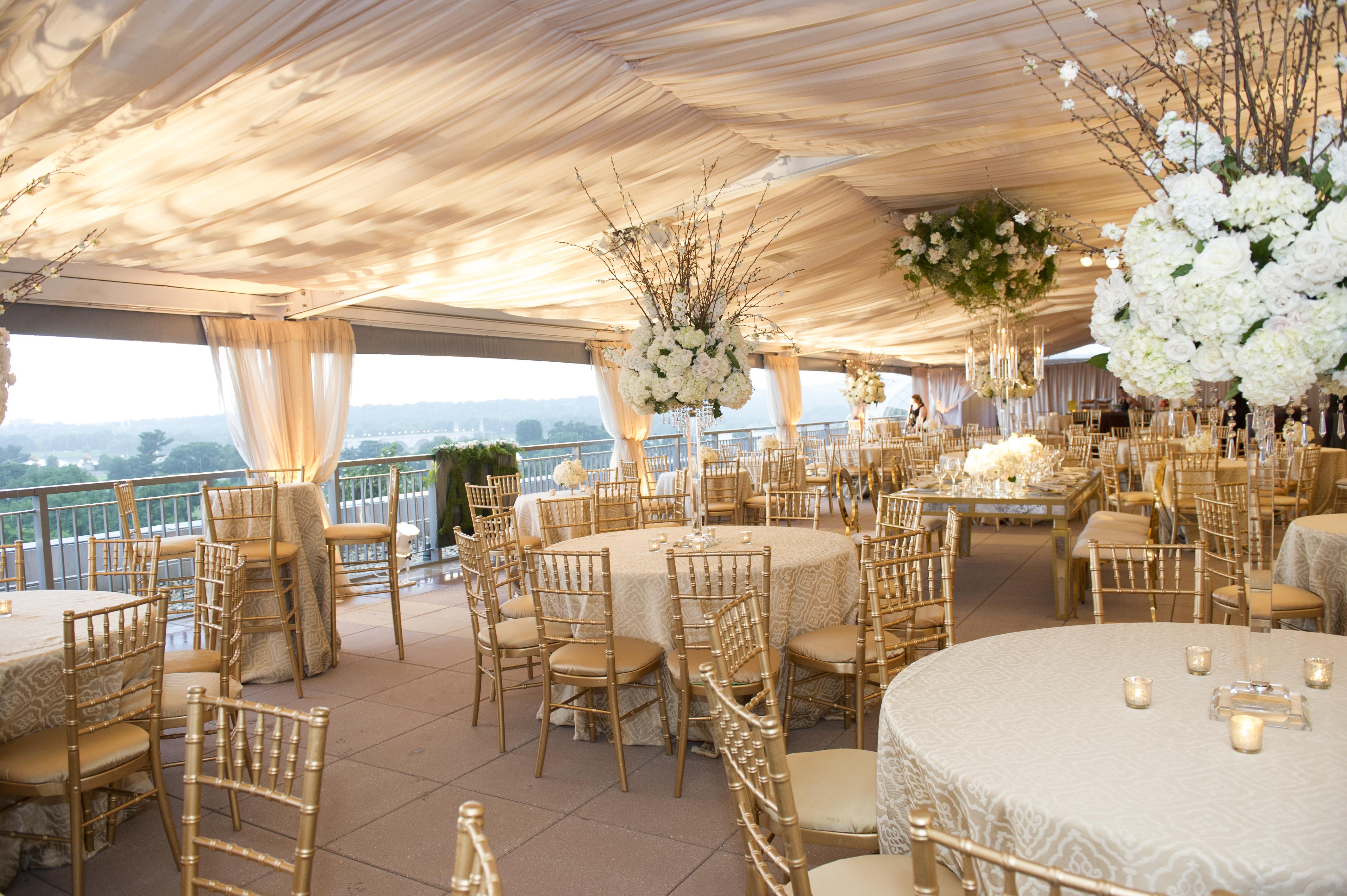Elegant DC Wedding Reception