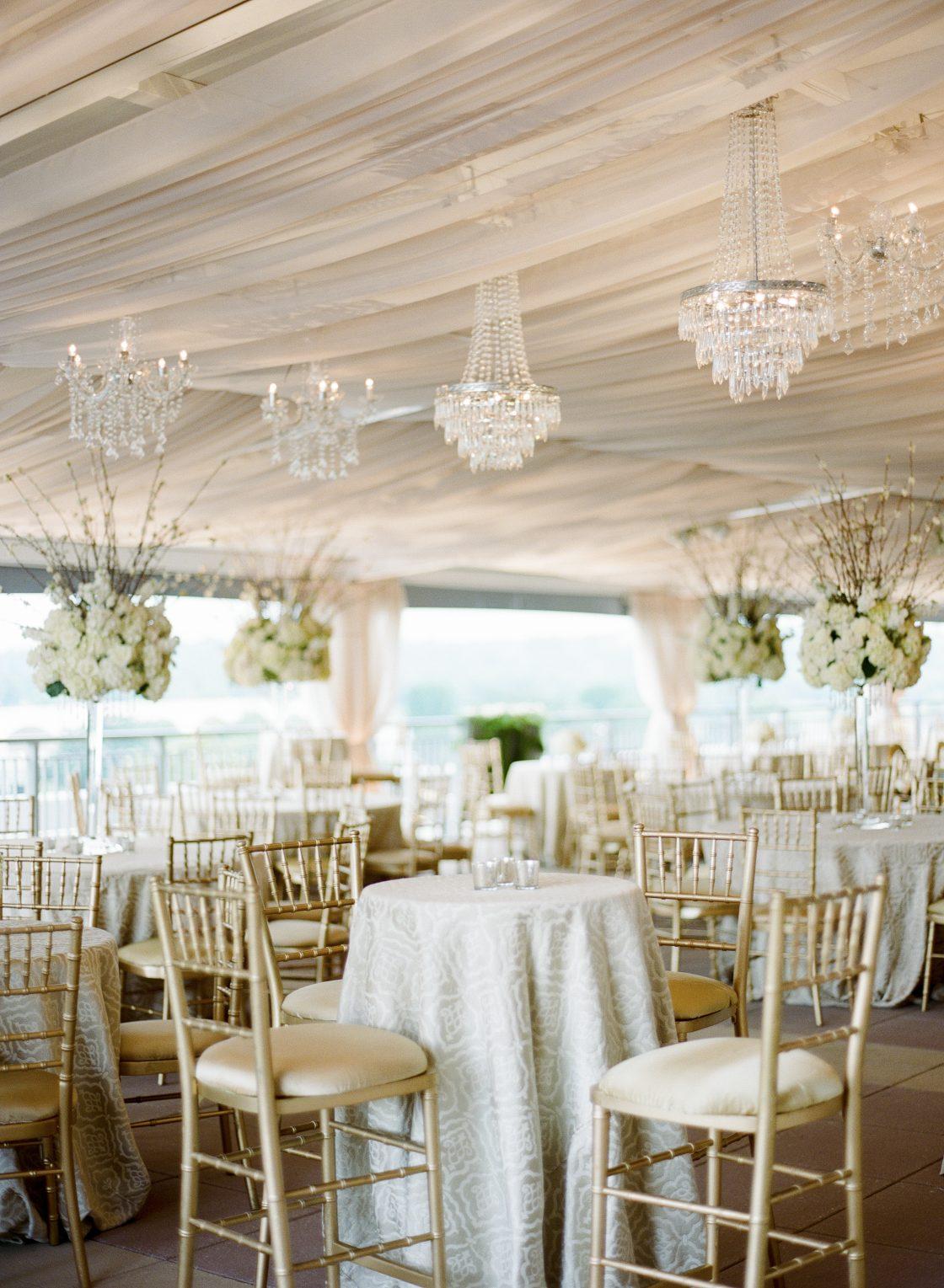 Elegant Formal Wedding Reception