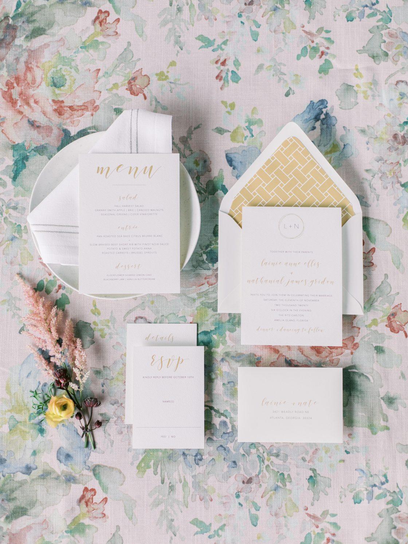 Elegant Traditional Wedding Invitations