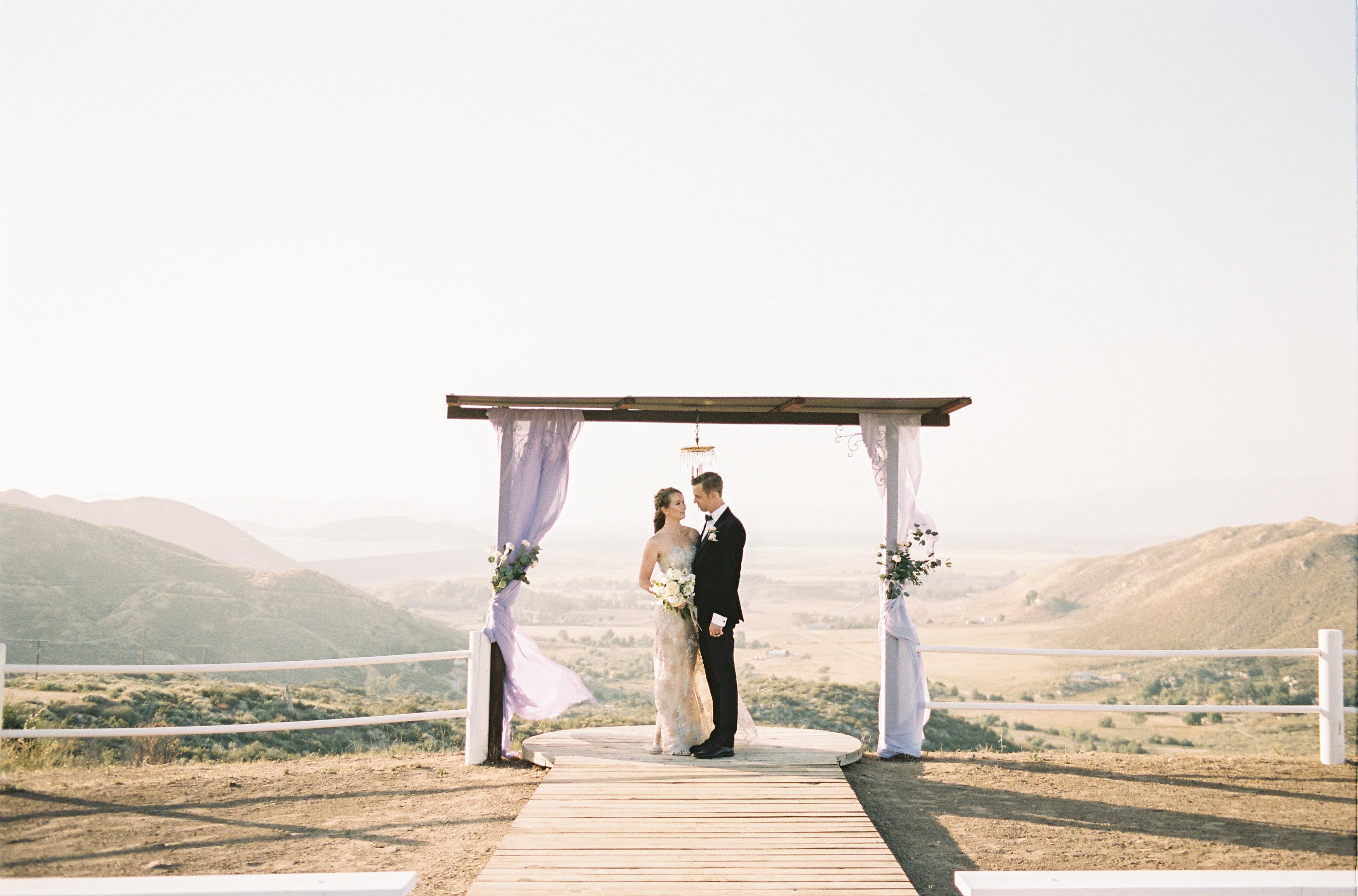 Golden Hour Wedding Ceremony