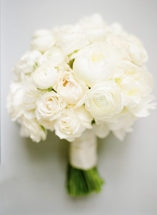 Ivory Rose Ranunculus Peony Bouquet