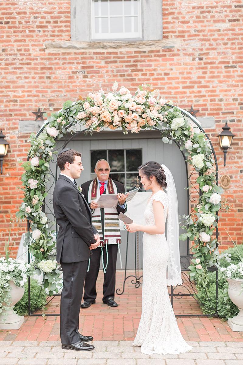 Jewish Wedding Ceremony Photo