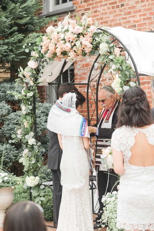 Jewish Wedding Ceremony Tallit