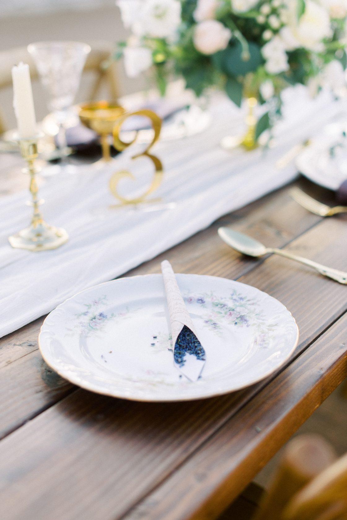 Lavender Wedding Toss Favor