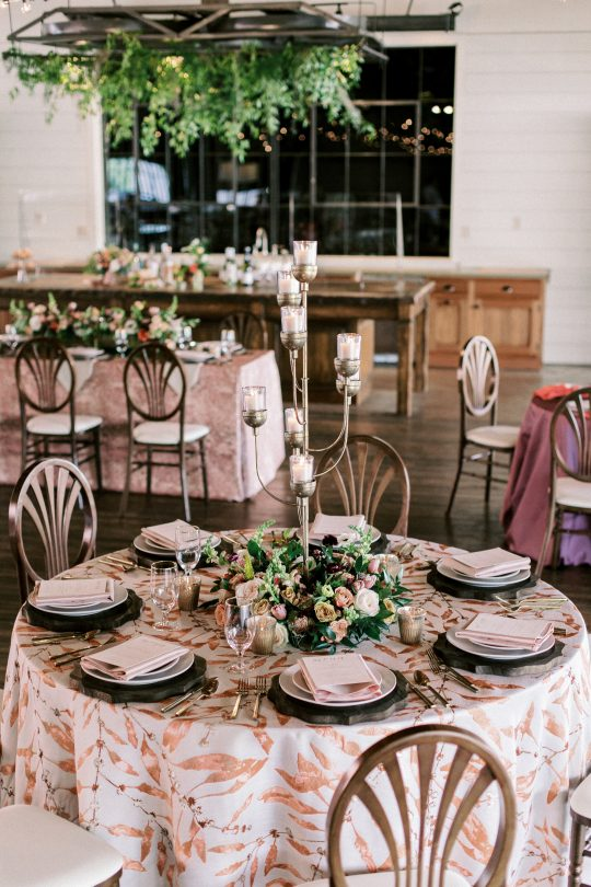 Small Wedding Reception Table Groupings