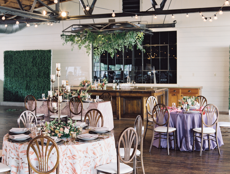 Socially Distant Wedding Reception