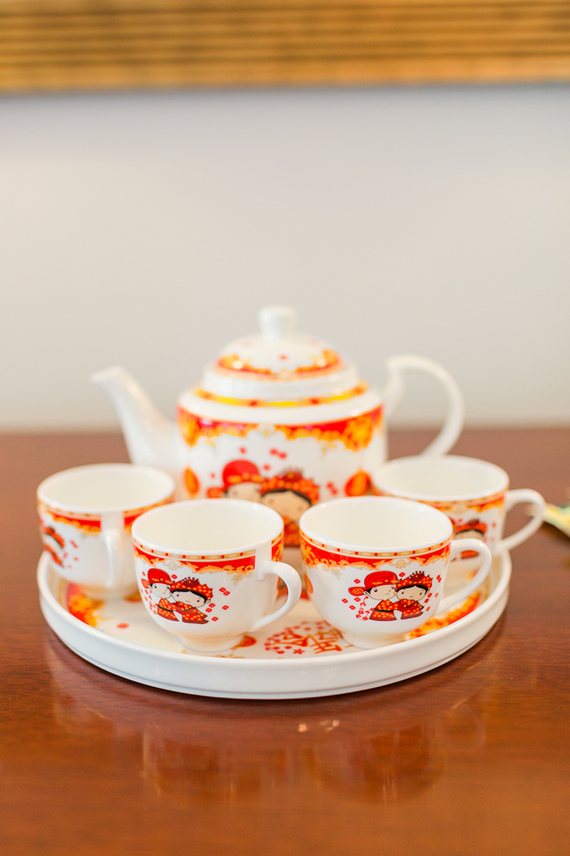 Traditional Wedding Tea Ceremony Teacups