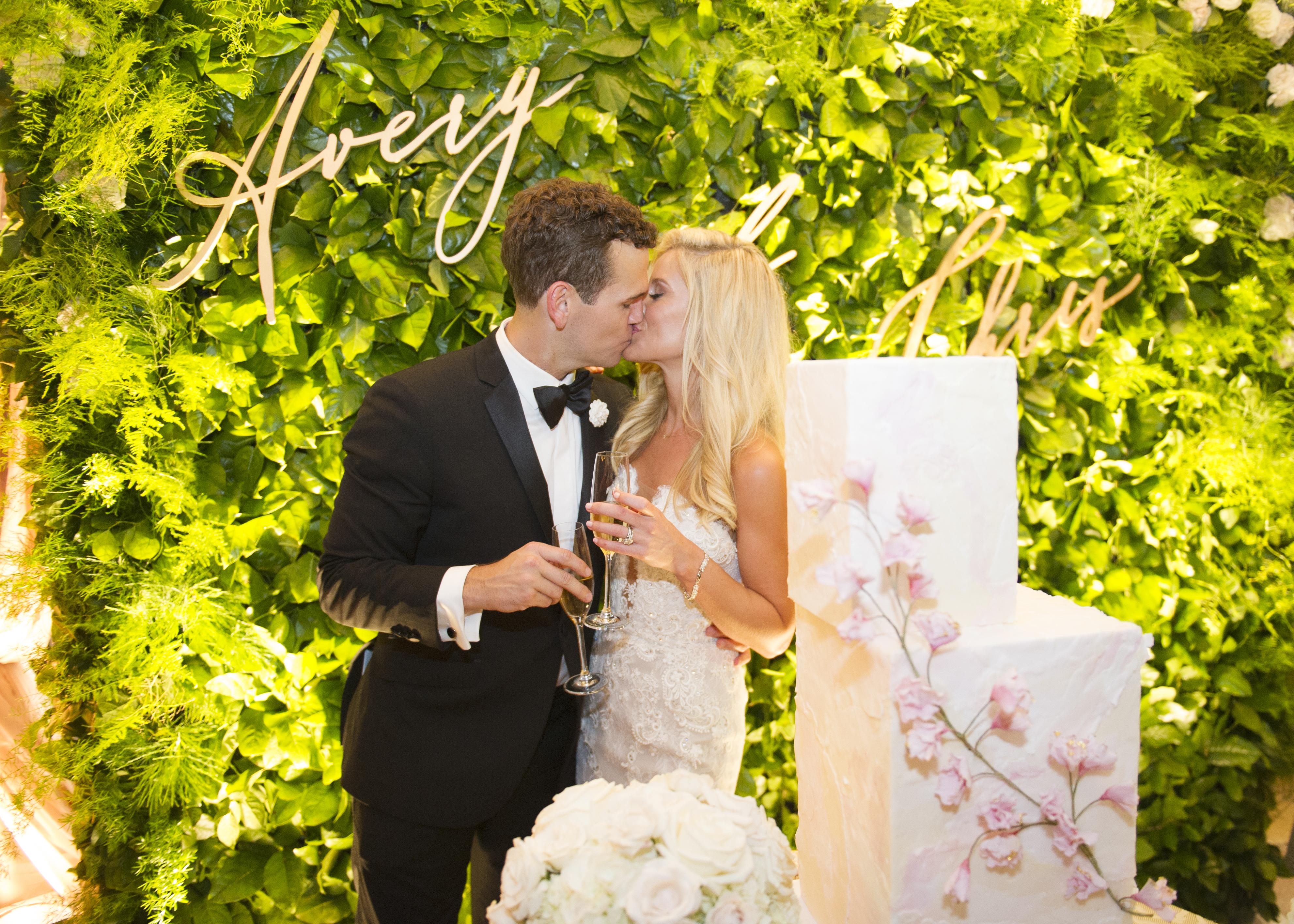 Wedding Cake Bridal Portrait