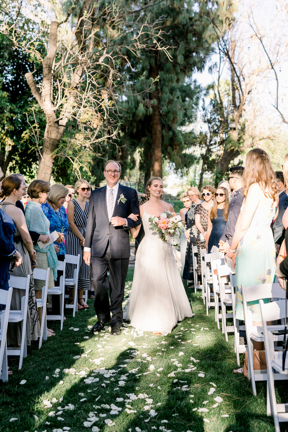 Charming Outdoor Wedding Ceremony