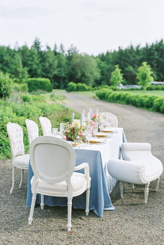 Chateau French Inspired Wedding Tablescape