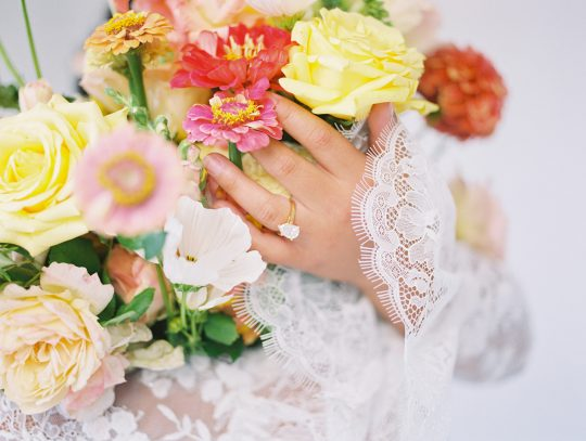 Bright Summer Wedding Flowers