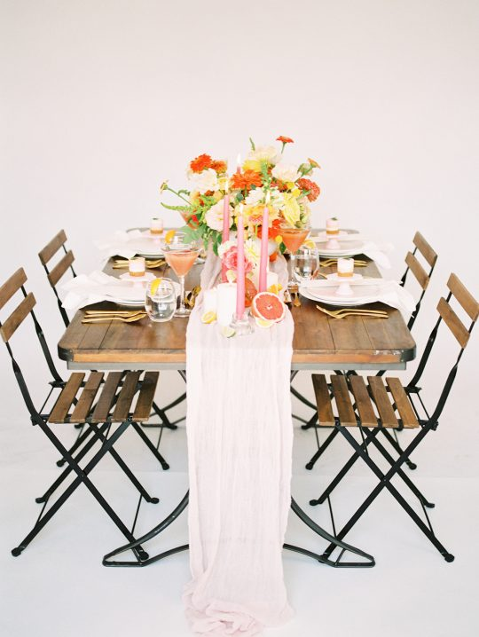 Bright and Rustic Citrus Wedding Inspiration