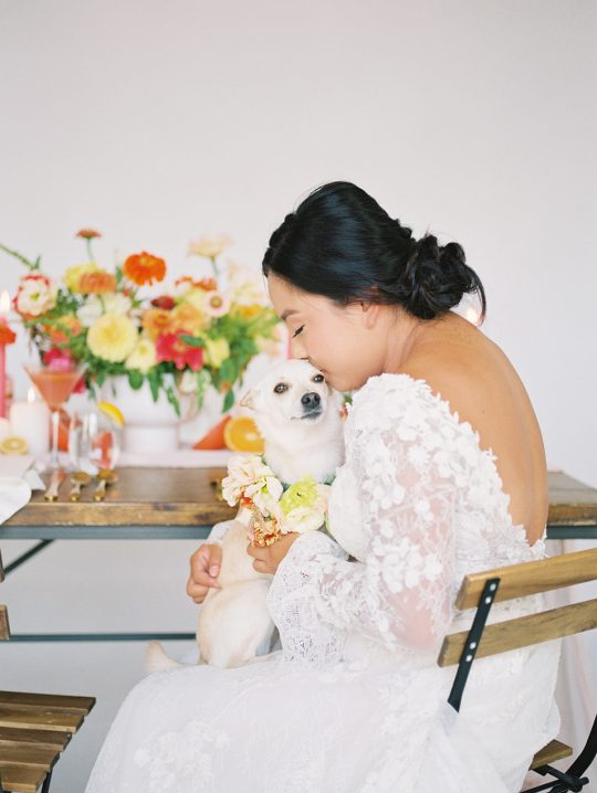 Dog in Wedding Inspiration