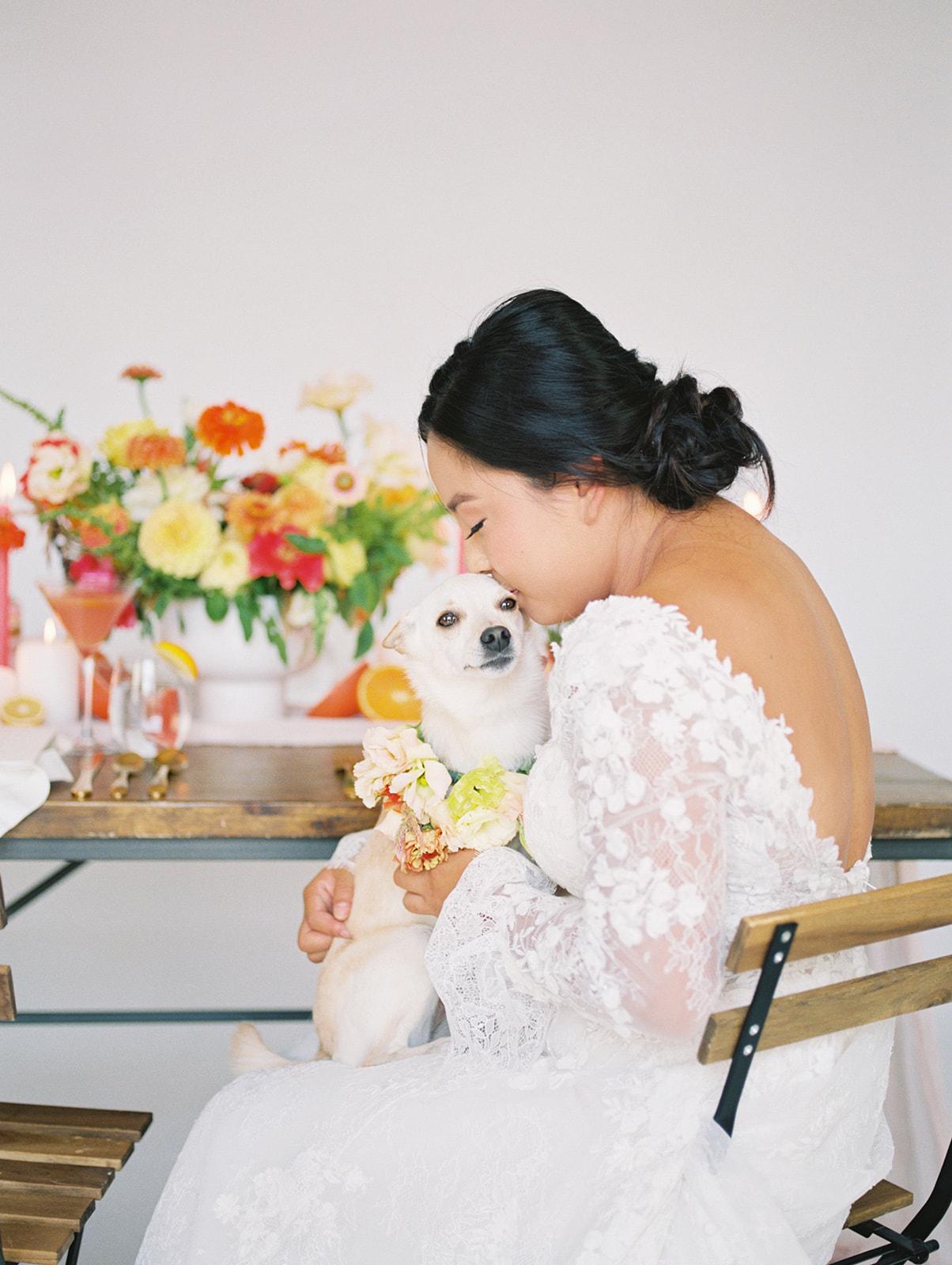 Dog in Wedding Inspiration