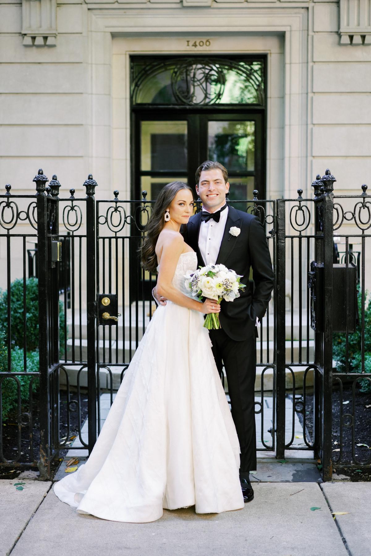 Elegant Chicago Wedding Portrait