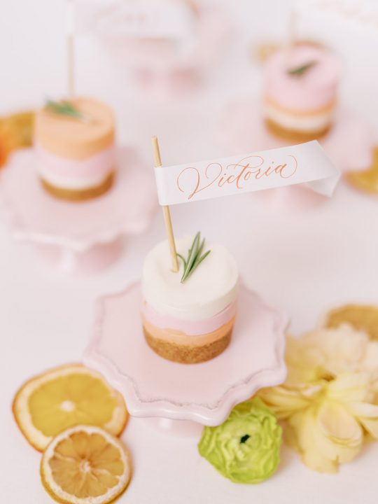 Wedding Mini Cheesecake Dessert