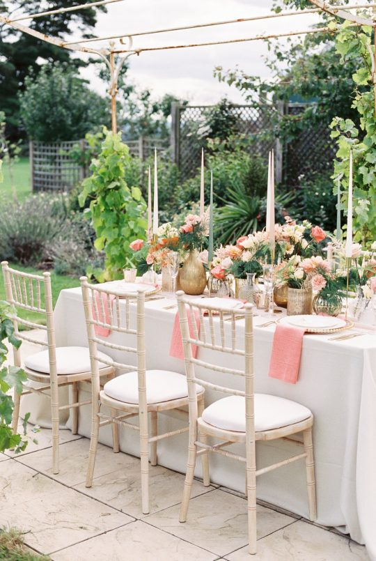 English Garden Winery Micro Wedding Reception