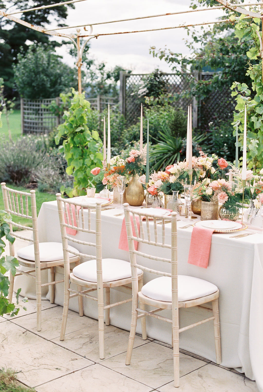English Garden Winery Micro Wedding Reception