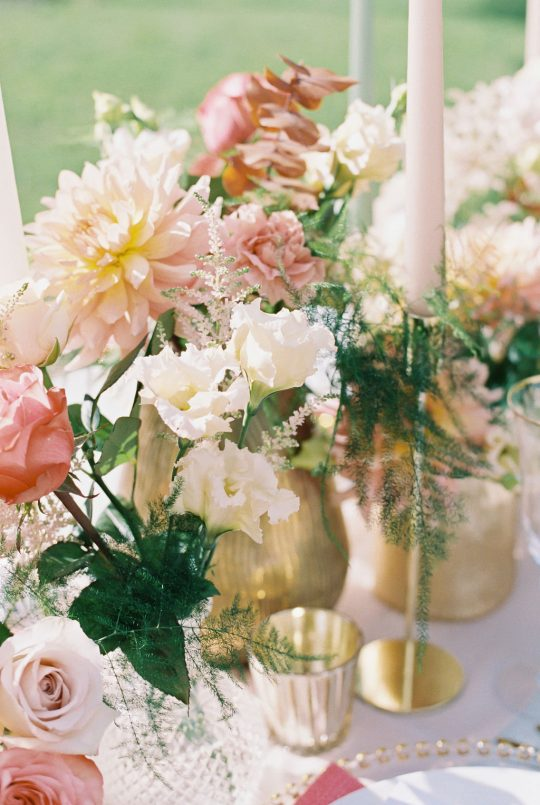 Gold and Champagne Wedding Detail Inspiration