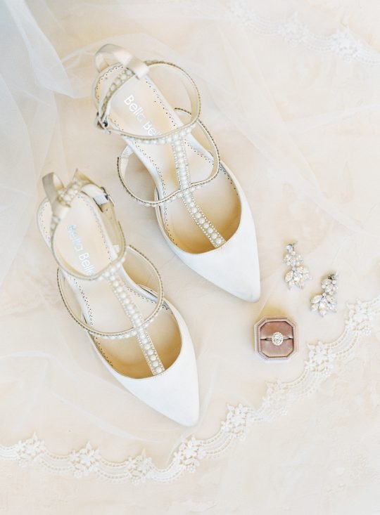Ivory Pearl Belle Wedding Shoes