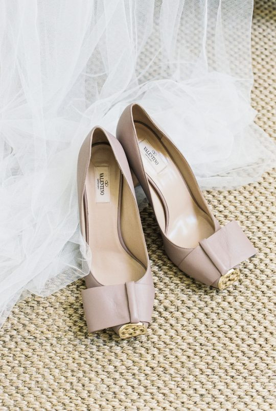 Nude Tan Valentino Shoes