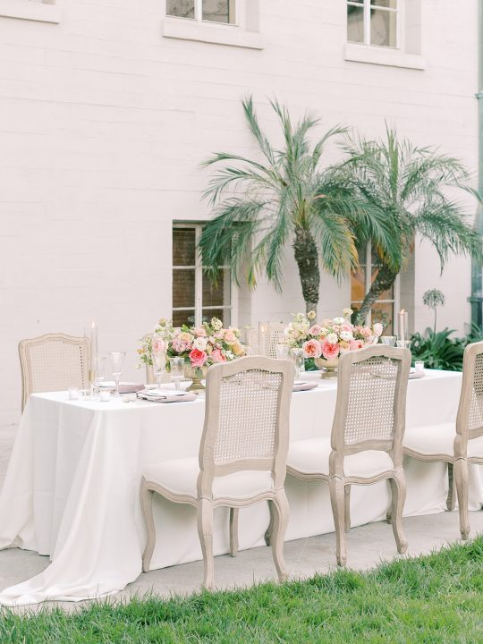 Outdoor Microwedding Reception Inspiration