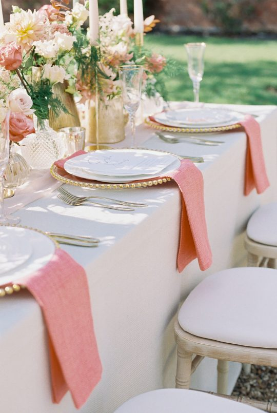 Pink Garden Wedding Inspiration