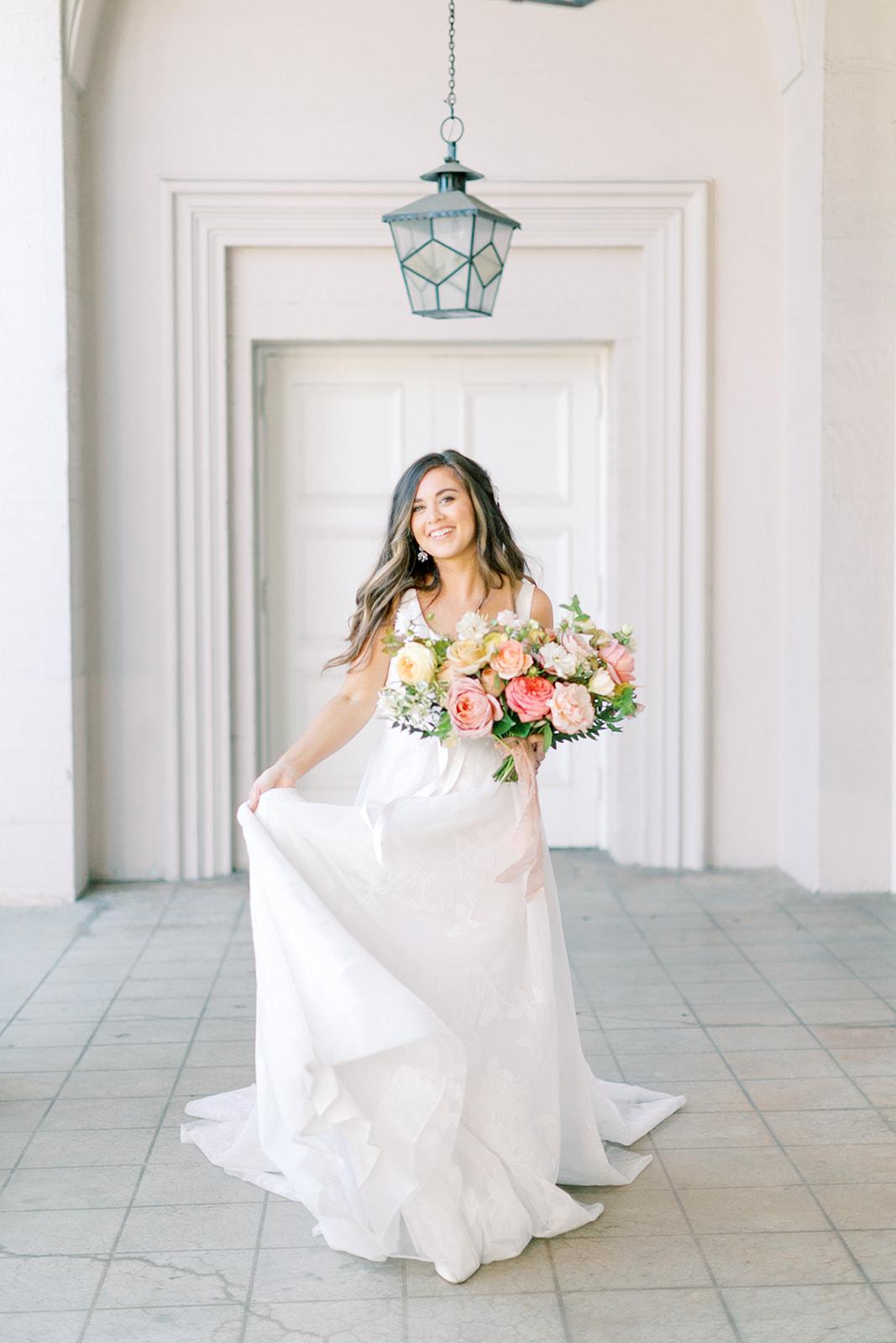 Romantic Elegant Bridal Portraits
