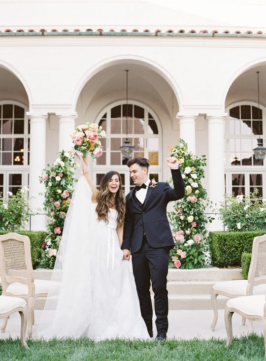 Romantic Outdoor Wedding Ceremony Inspiration