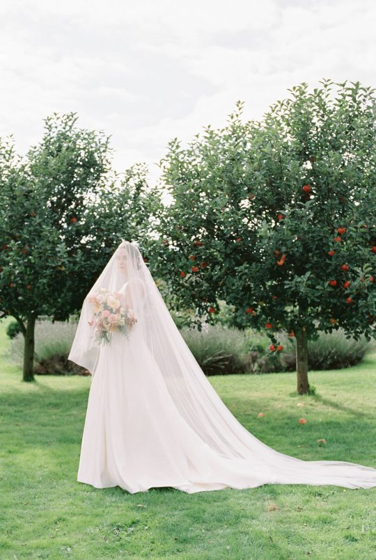 Romantic Wedding Gown and Veil Inspiration