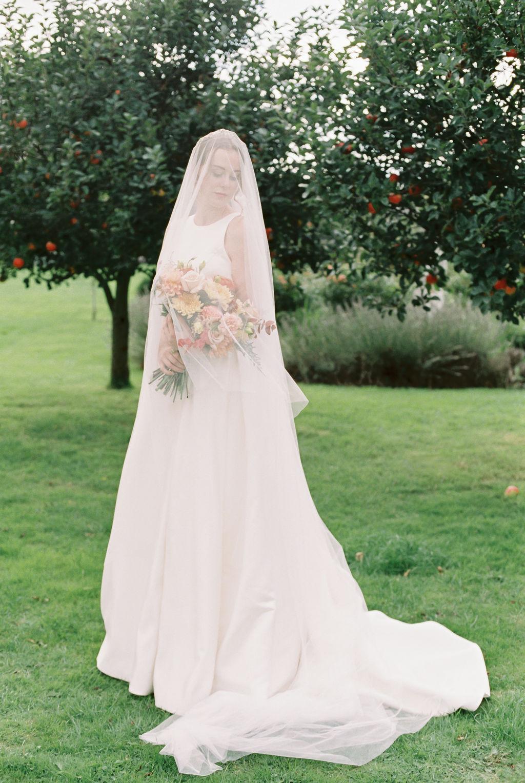 Veiled Bride Photo