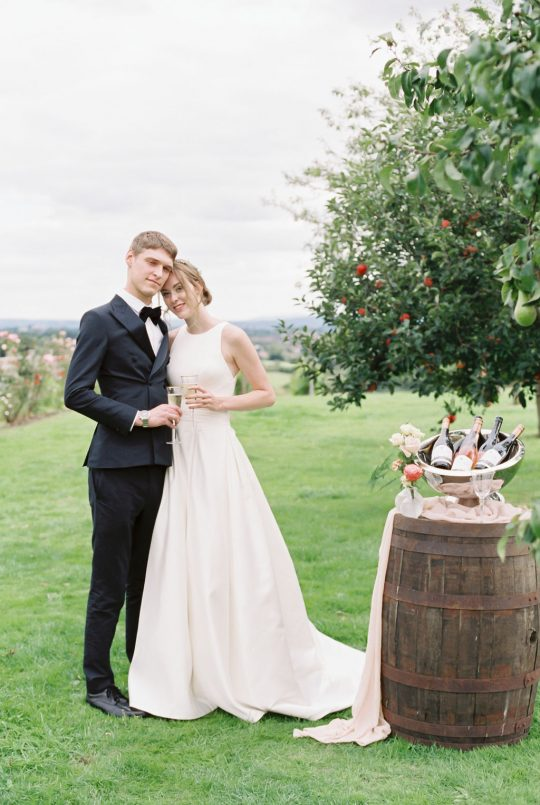Vineyard Winery Wedding