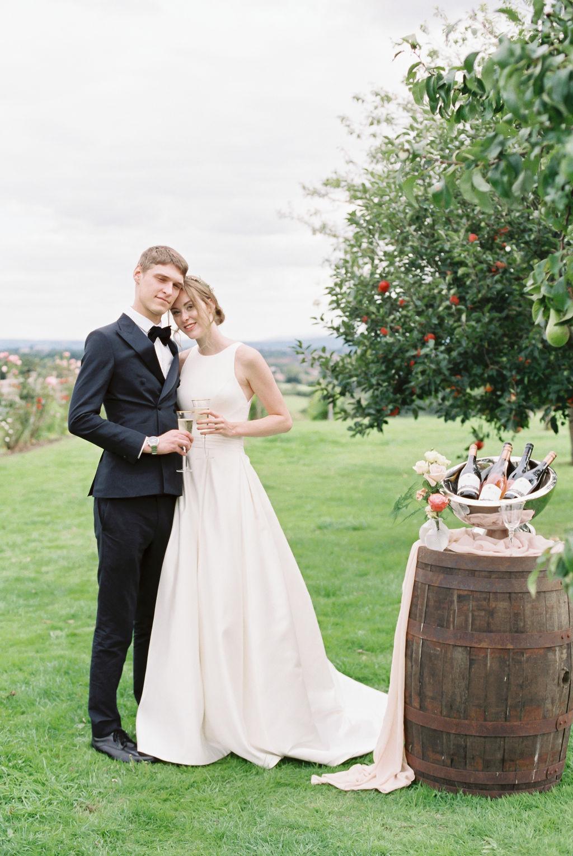 Vineyard Winery Wedding