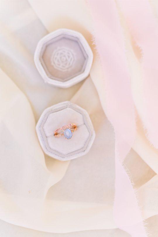 Aquamarine Wedding Ring
